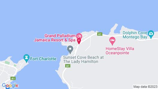 Grand Palladium Jamaica Resort & Spa All Inclusive Map
