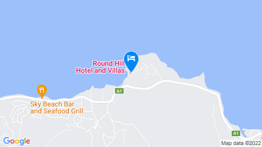 Round Hill Hotel And Villas Map
