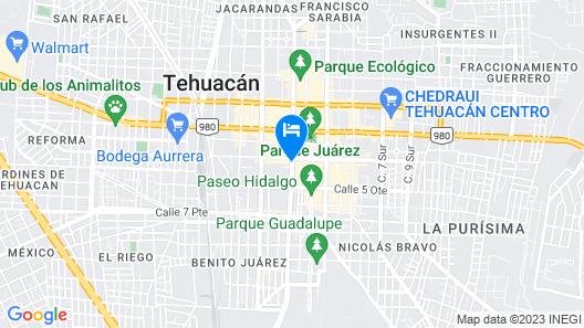 CR Tehuacan Map