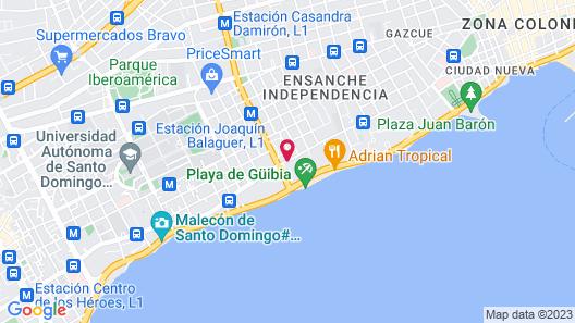 Hotel Riazor Map