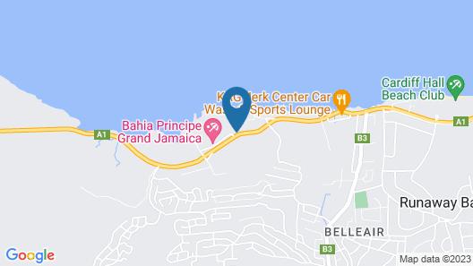 Bahia Principe Luxury Runaway Bay - Adults Only - All Inclusive Map