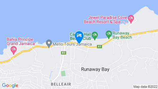 Franklyn D. Resort & Spa All Inclusive Map