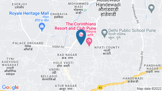 The Corinthians Resort & Club Map