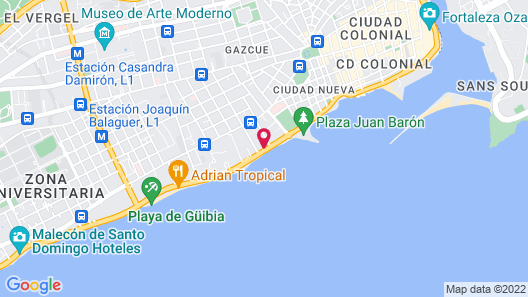 Crowne Plaza Santo Domingo, an IHG Hotel Map