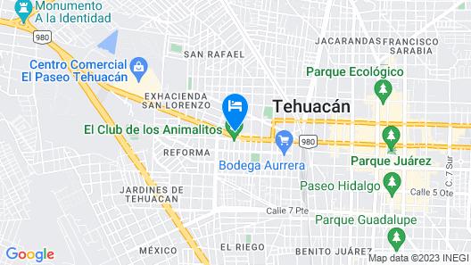 Hotel Villablanca Map