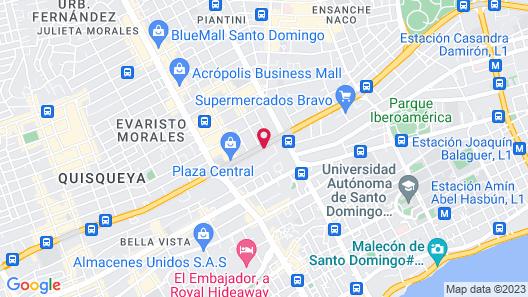 Weston Suites & Hotel Map