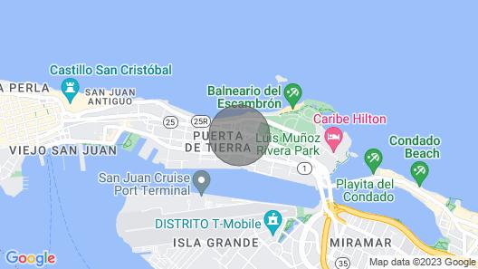 Oceania - Ocean Views Galore in San Juan! Map