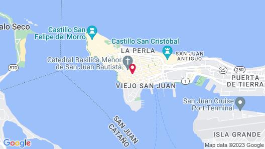 Hotel Plaza De Armas Old San Juan Map