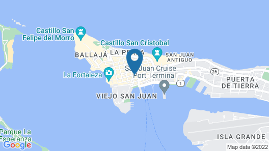 S.J. Suites Hotel Map