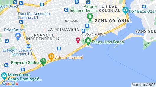 Hotel Alcaldeza Map