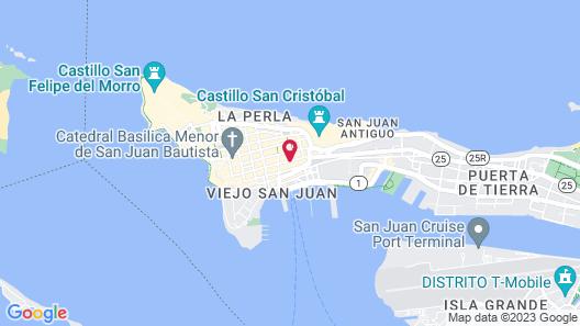 Fortaleza Suites Map