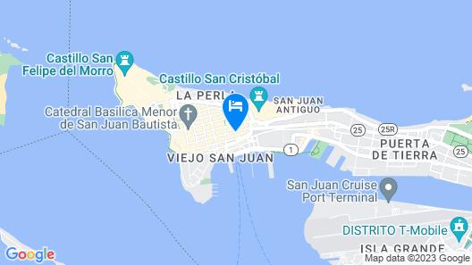 CasaBlanca Hotel Map