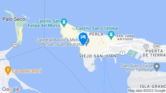 Villa Herencia Hotel Map