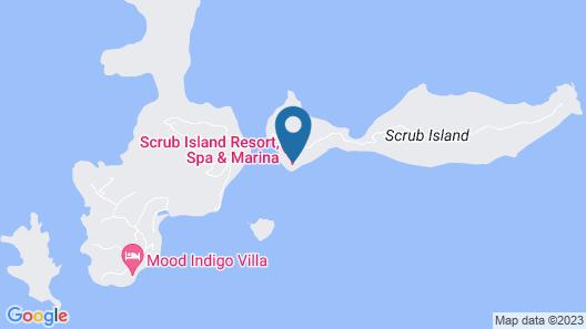 Scrub Island Resort, Spa & Marina, Autograph Collection Map
