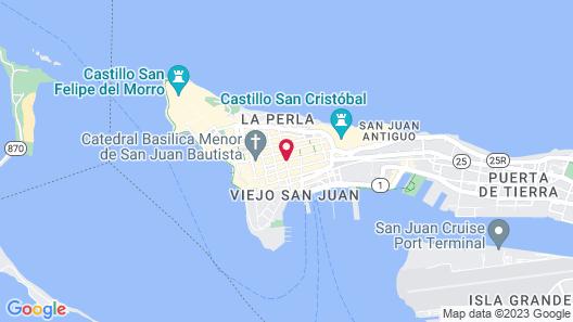Palacio Provincial Map