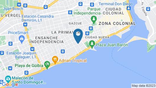La Casona Dorada Map