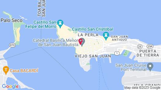 Hotel El Convento Map