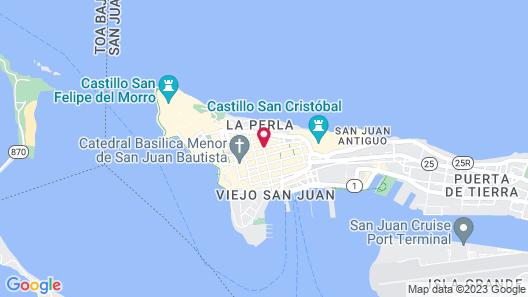 La Terraza de San Juan Map