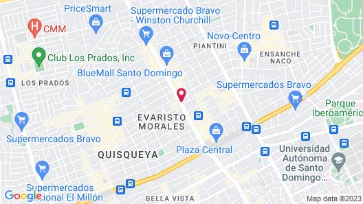 Intercontinental Real Santo Domingo, an IHG Hotel Map