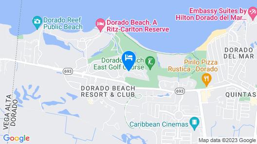 Villa Allande Map