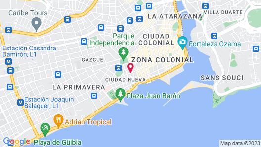 Casas del XVI Map