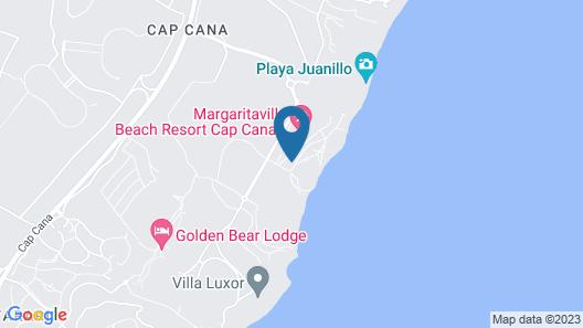 Sanctuary Cap Cana, All-Inclusive Adult Resort Map