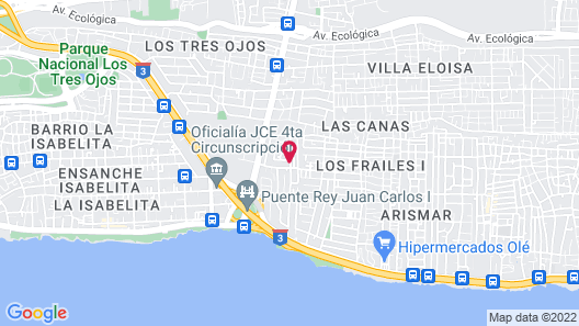 Tropical Island Aparthotel Map
