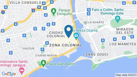 Hotel Conde de Peñalba Map