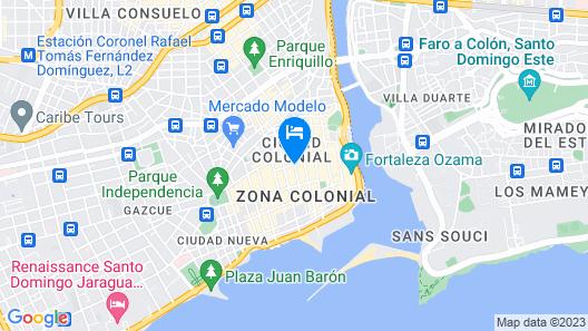Boutique Hotel Palacio Map