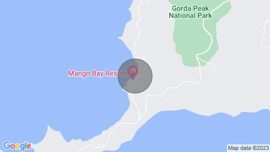 Sea Fans - 4 BR Beachfront Villa on Spectacular Mahoe Bay Map