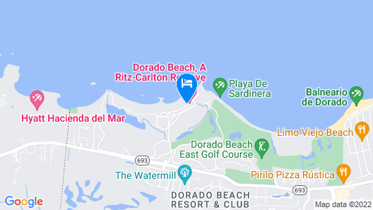 Dorado Beach, a Ritz-Carlton Reserve Map
