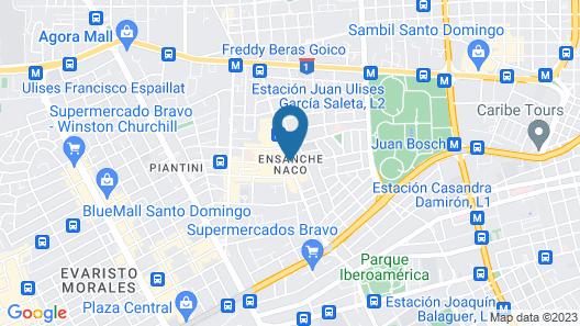 Embassy Suites by Hilton Santo Domingo Map