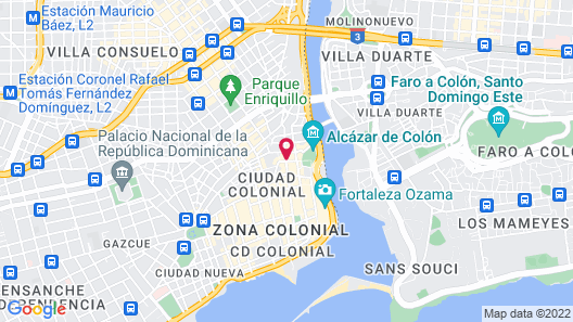 GRAN HOTEL EUROPA In the Heart of Colonial City Map