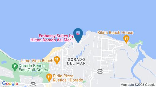 Aquarius Vacation Club at Dorado del Mar Map