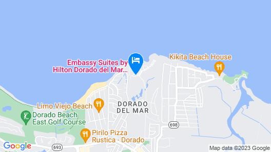 Embassy Suites by Hilton Dorado del Mar Beach Resort Map