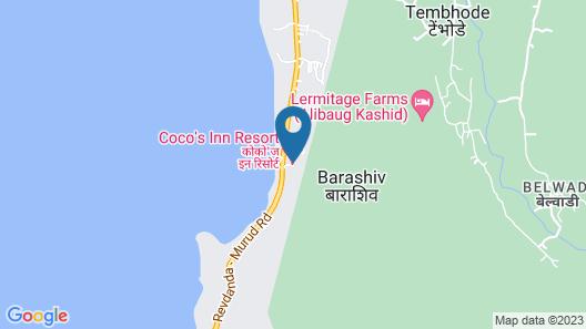 Coco's Inn Resort Map