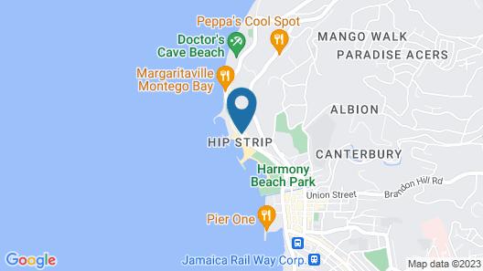 Polkerris Bed & Breakfast Map