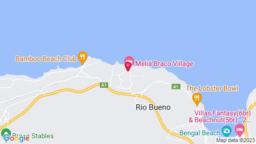 Melia Braco Village, Jamaica - All Inclusive Map