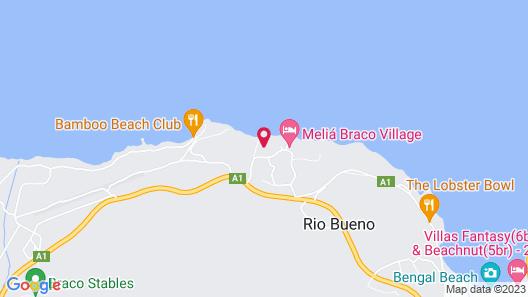 Breezes Resort & Spa Rio Bueno All Inclusive Map