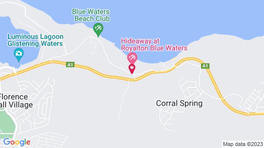 Royalton Blue Waters Resort & Spa - All Inclusive Map