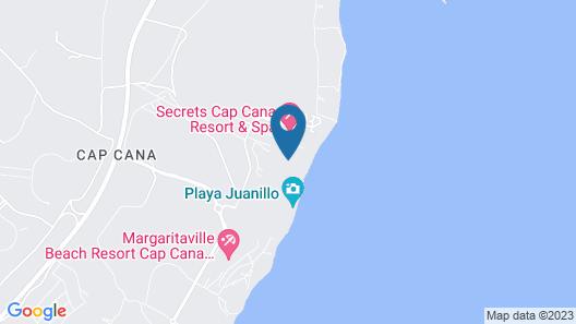 Hyatt Ziva Cap Cana - All Inclusive Map
