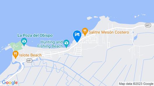 Sol del Atlantico Inn at 681 Ocean Drive Map