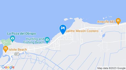 Vacation Rentals at Salitre Map