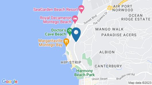 SUNSET BEACH STUDIO AT MONTEGO BAY CLUB RESORT Map