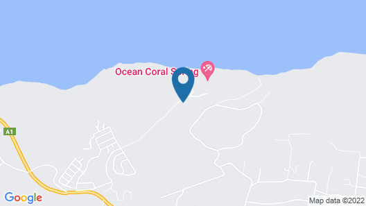 Ocean Coral Spring Resort - All inclusive Map