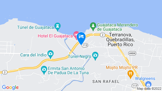 Hotel VistaMar Ocean Club Map