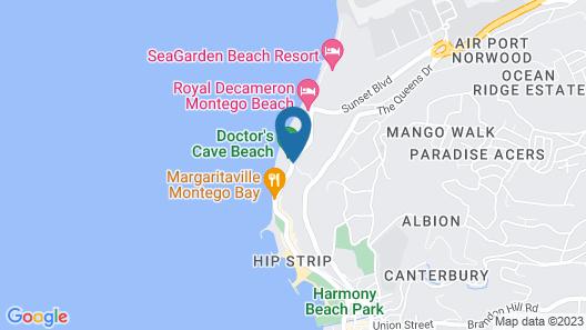 Montego Bay Club Apartments Map