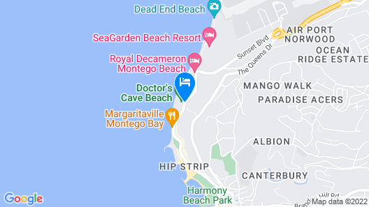 SKYMILES BEACH SUITE AT  MONTEGO BAY CLUB RESORT Map