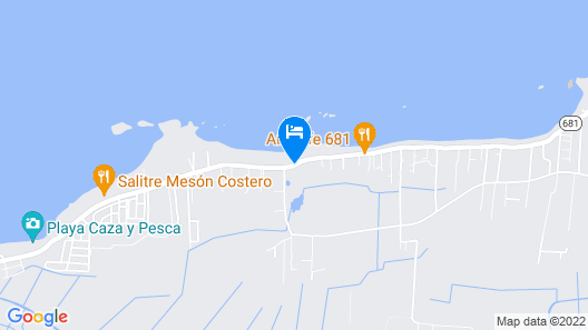 Ventana al Atlantico Boutique Hotel Map