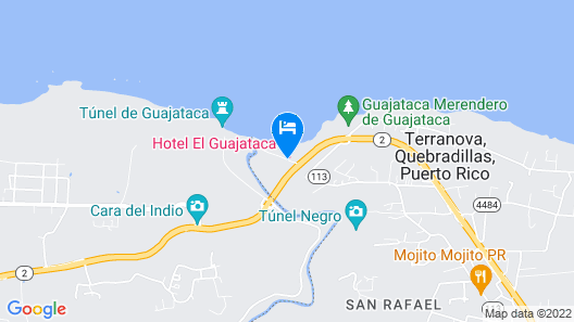 Hotel El Guajataca Map